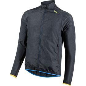 UYN Running Activyon OW Melange Wind Jacket Men, anthracite melange/blazing yellow/palace blue